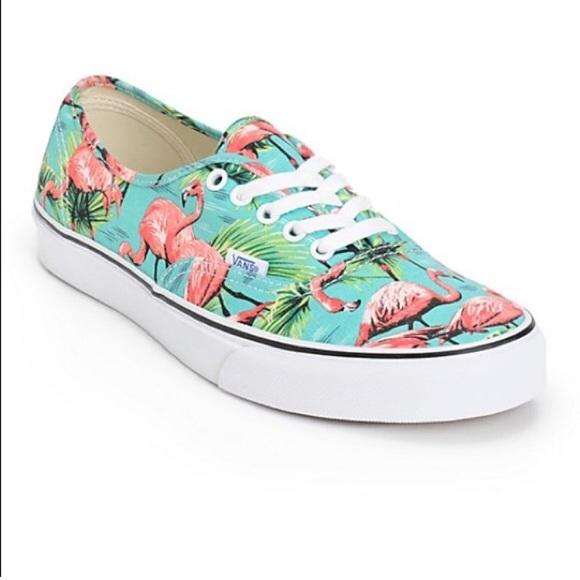 326c3a80de Vans Van Doren authentic flamingo sneakers 10.5. M 5c576f3934a4ef8b3e50924a